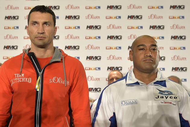 Wladimir Klitschko vs. Alex Leapai: Fight Time, Date, Live Stream, TV Info, More