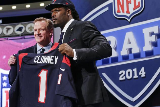 2014 NFL Draft Results: Grades and Order Listing for Each Franchise Before Day 2