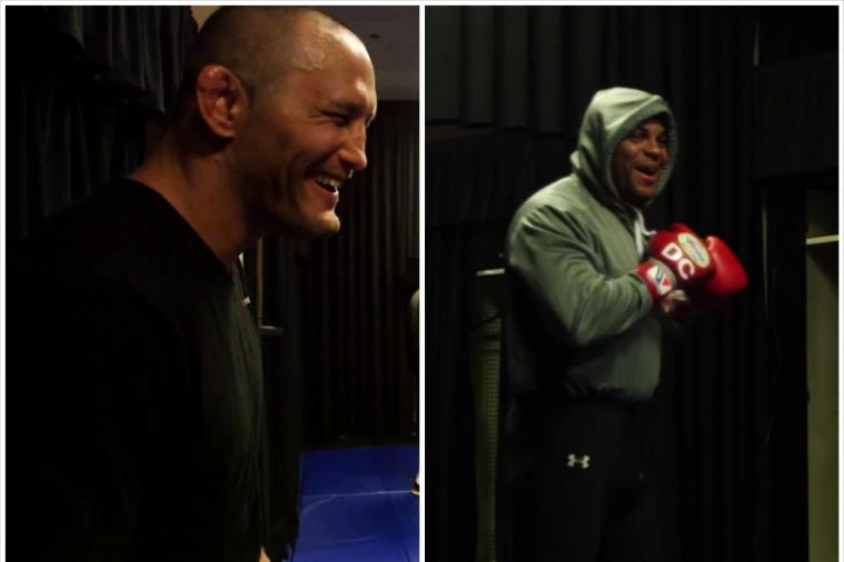 Dan Henderson Trolls Daniel Cormier by Bringing Him Fried Chicken Before UFC 173