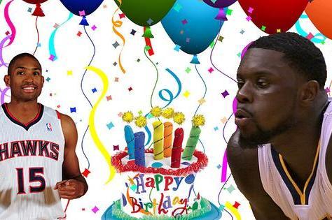 Atlanta Hawks Use Lance Stephenson to Help Al Horford Celebrate Birthday