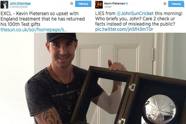 Kevin Pietersen Disproves Sun Article in One Tweet, Calls Out Journo on Twitter