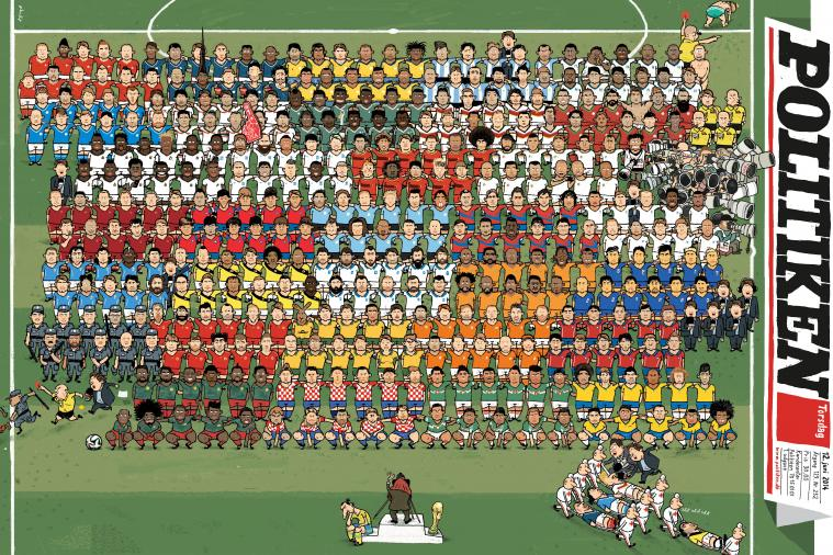 Every World Cup Team in One Brilliant Illustration