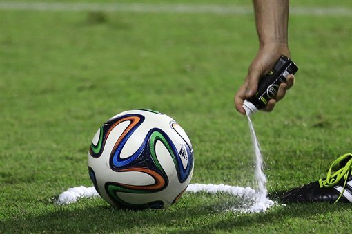 FIFA World Cup 2014: What You Need to Know About Referee's Vanishing Spray