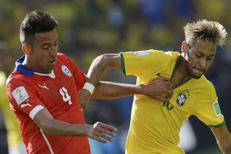 Chile vs. Brazil: Goals and Highlights for World Cup 2014 Round of 16