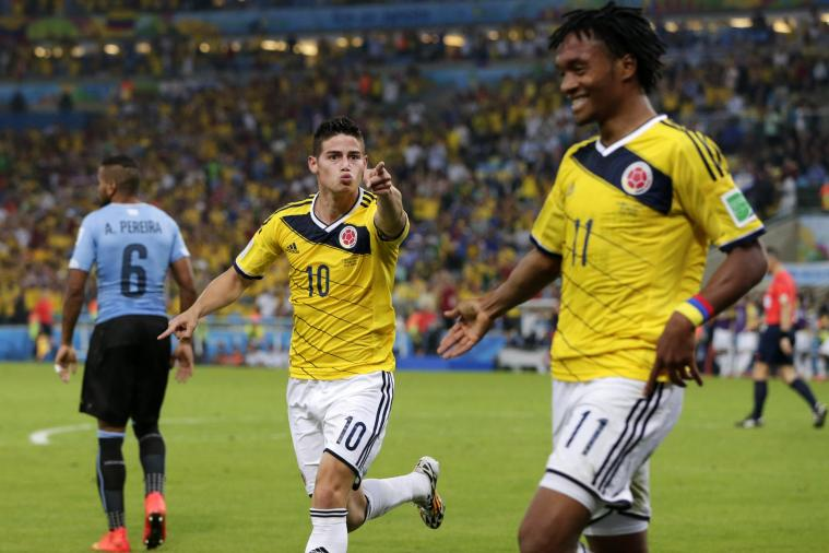 Colombia vs. Uruguay: Goals and Highlights for World Cup 2014 Round of 16