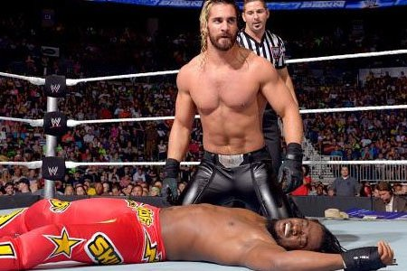 Seth Rollins Wins WWE Title Contract in Money in the Bank Ladder Match