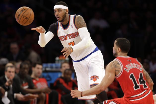 Bulls Rumors: Latest Gossip on Carmelo Anthony and Others from Chicago's Camp
