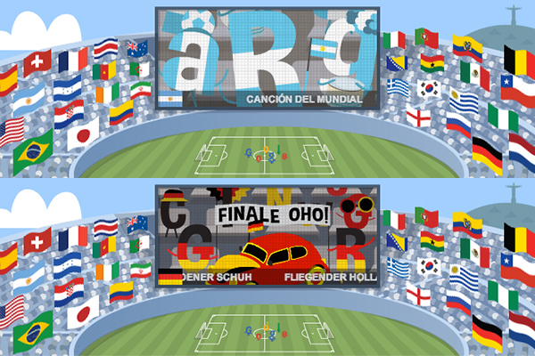 Google Unveils Interactive World Cup Doodle with Illustrations for Every Team