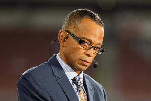 Stuart Scott Delivers Powerful Speech After Winning Jimmy V Award at 2014 ESPYs