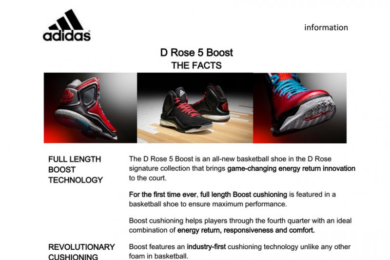 adidas d rose 5 technology