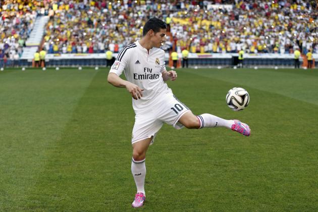 James Rodriguez to Make Real Madrid Debut in UEFA Super Cup