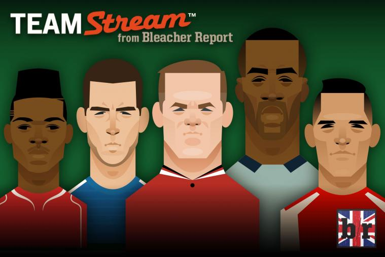 Stanley Chow's Premier League Illustration Featuring Rooney, Hazard, Sterling