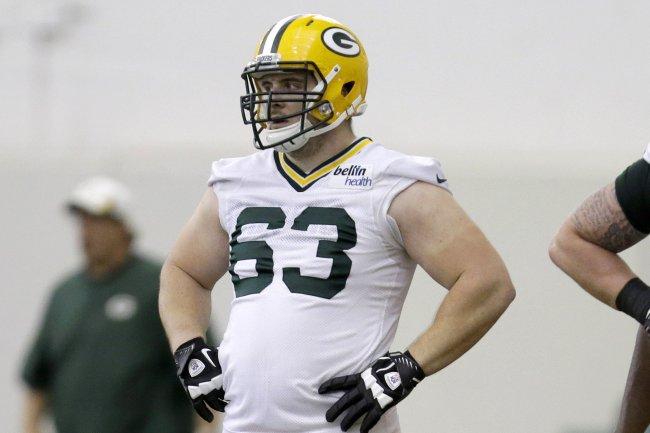 Green Bay Packers JC Tretter LIMITED Jerseys