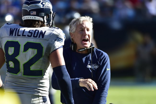 NFL Jerseys NFL - Seahawks Passing Offense Flourishing with Emergence of TE Luke ...