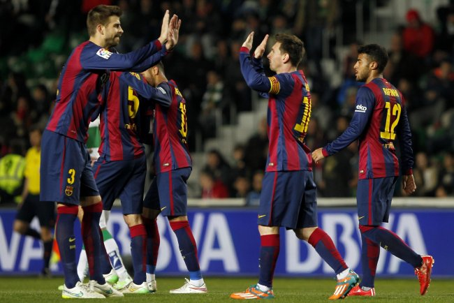 La liga table 2015 updated standings following matchday 21 results bleacher report - La liga latest results and table ...