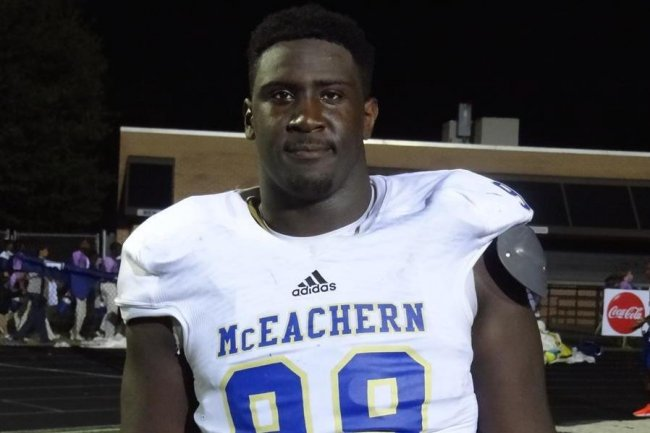 "Georgia Recruiting: 2016 DT Julian Rochester, Georgia Has ""Scared Off"" the Competition"