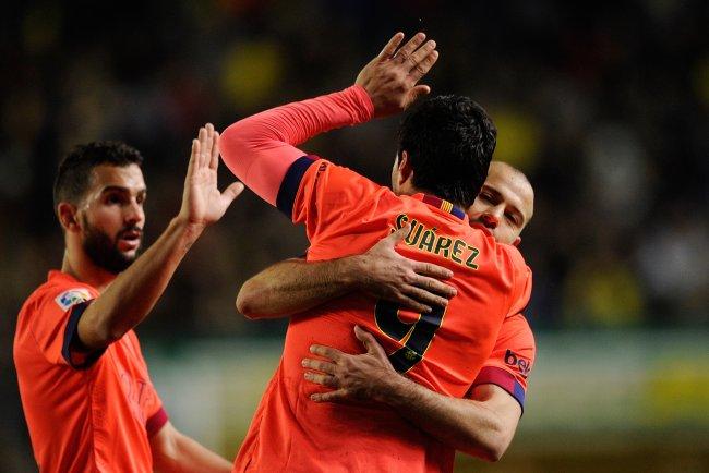 Javier mascherano must fill void left by sergio busquets - Javier suarez ...