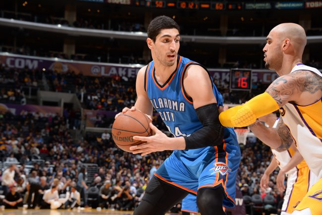 How Much Is Enes Kanter Worth in Free Agency to the Oklahoma City Thunder? | Bleacher Report