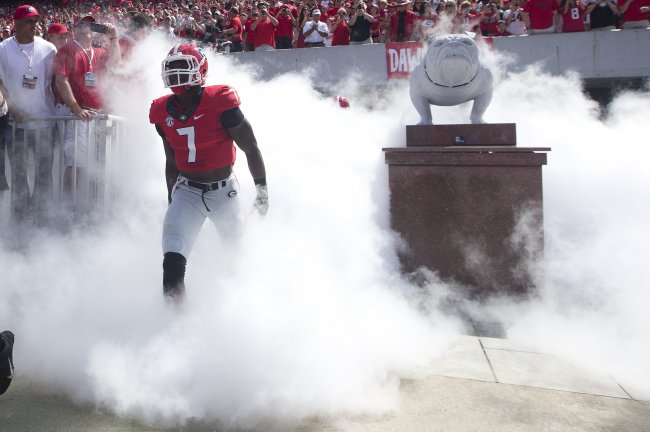 Georgia Football: Lorenzo Carter is Having Fun and It's Wonderful to See