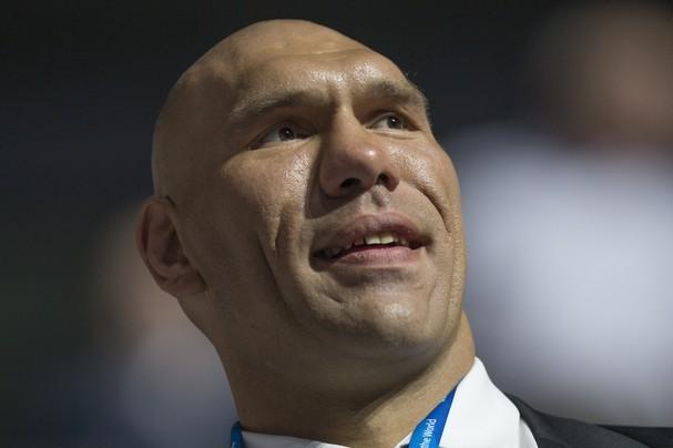 Nikolai Valuev Galina Valueva