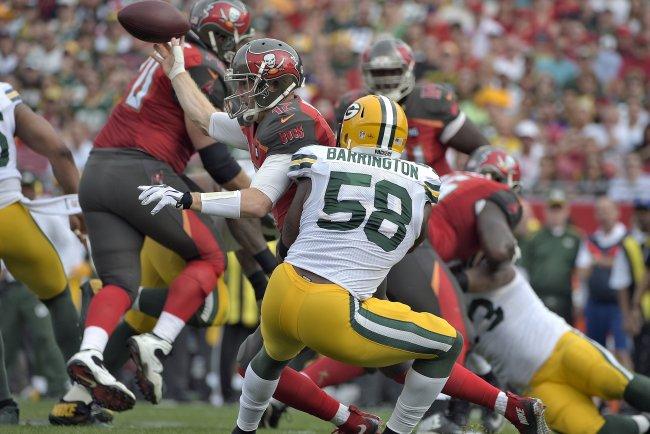Nike jerseys for Cheap - Green Bay Packers 2015 Impact Meter: ILB Sam Barrington | Bleacher ...