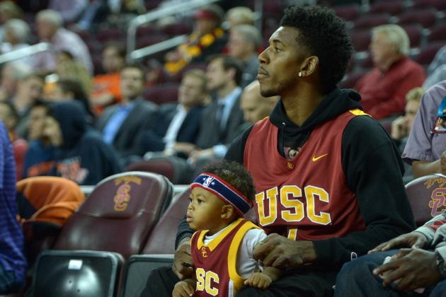 Nick Young's Son Plays 1st Organized Basketball Game, Promptly Gets Buckets