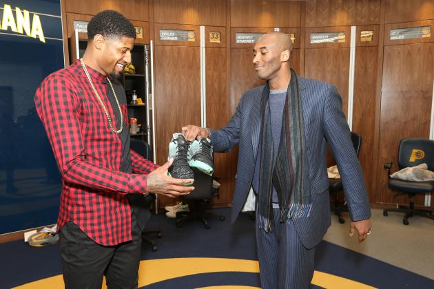 Kobe Bryant Gifts Paul George Pair of Shoes After Pacers Edge Lakers