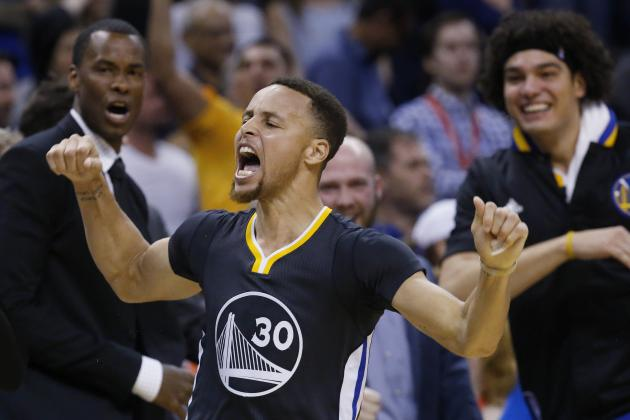 NBA Players Around the League Lose It After Stephen Curry's Game-Winner