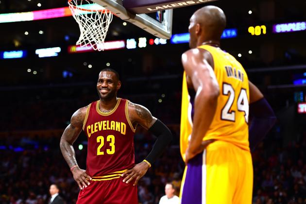 Kobe Bryant Says LeBron James' Kids Pass Too Much: 'I'll Fix That'