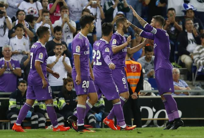 Image result for espanyol vs real madrid 2016