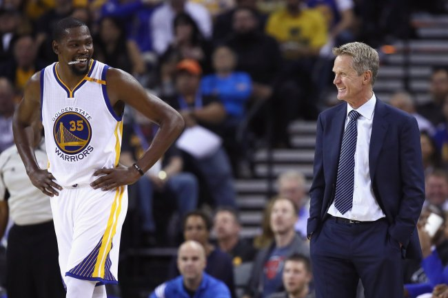 Still Stung By Finals Loss Warriors Driven By Redemption Kevin