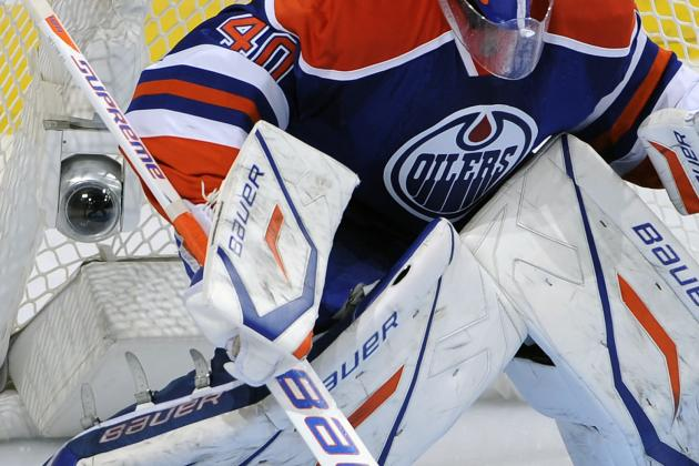 Devan Dubnyk Bringing a Simple Intensity for the Oilers