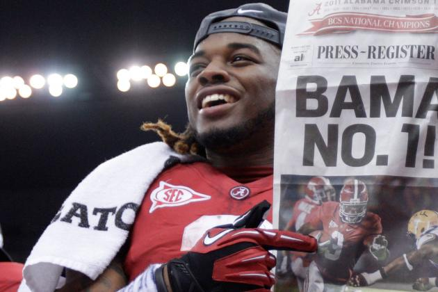Trent Richardson Leaving Alabama Crimson Tide for 2012 NFL Draft