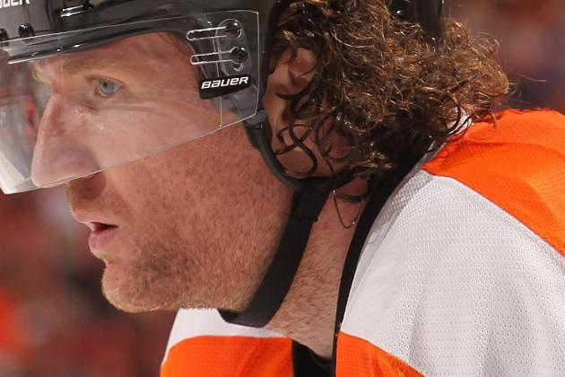 Philadelphia Flyers: Why Scott Hartnell Was Not an All-Star Snub