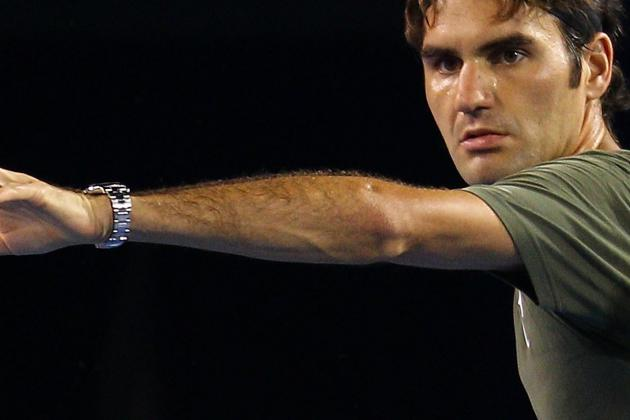Roger Federer Has to Love His Draw at the 2012 Australian Open