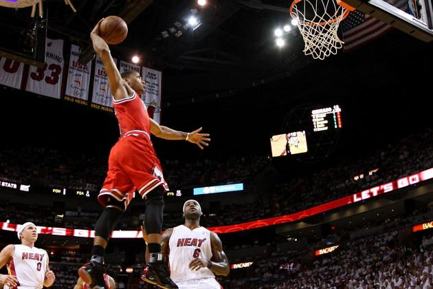 2012 Slam Dunk Contest: Add Derrick Rose to the Ballot