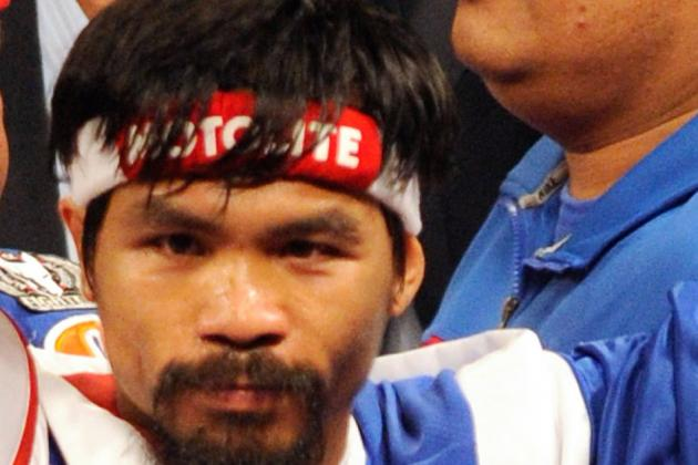 Boxing Breaking News: Manny Pacquiao Agrees to May 5 and 50/50 Split