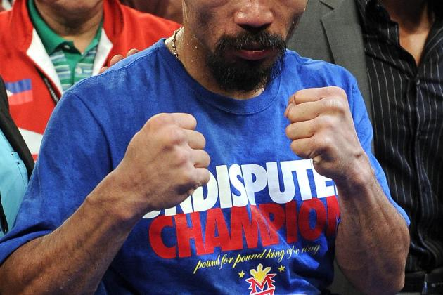 Mayweather vs. Pacquiao: Pac-Man Releases Statement, Agrees to May 5 Fight