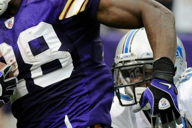 Adrian Peterson Starting Rehabilitation Process for ACL/MCL Injury