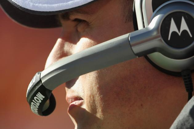 Broncos vs. Patriots: Pats Future OC Josh McDaniels Will Coach in Booth