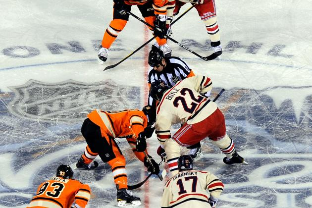 Winter Classic 2013: Original Six Matchup at the Big House