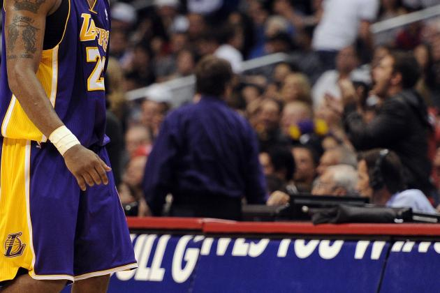 L.A. Lakers: Kobe Bryant Sets Record in Loss to Rival Clippers