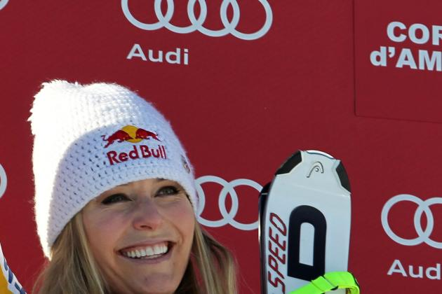 Lindsey Vonn: American Skiing Star on Pace to Become Best Ever with Super-G Win
