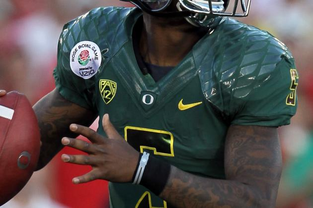 Oregon Ducks Football: Darron Thomas Bolts for NFL, Bryan Bennett Era Begins