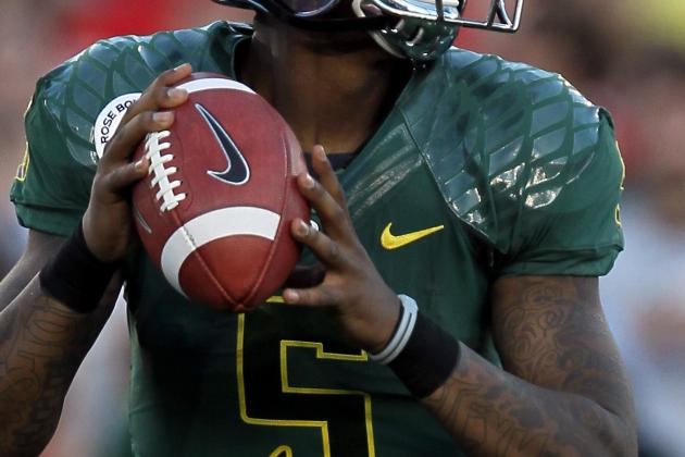 2012 NFL Draft: Oregon's Darron Thomas Makes Right Decision to Turn Pro
