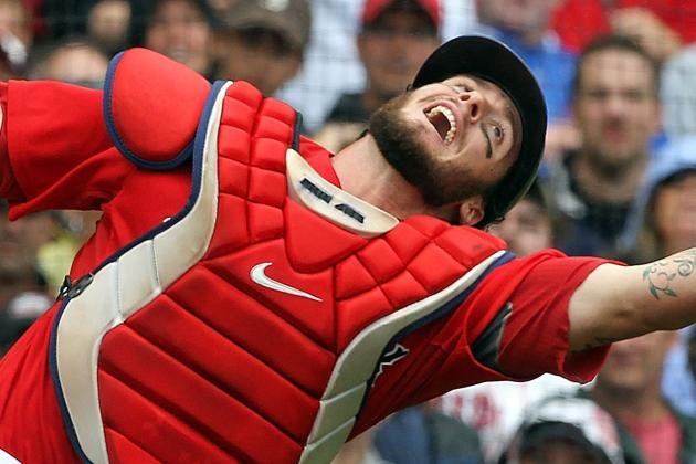 Jarrod Saltalamacchia: Boston Red Sox Avoid Salary Arbitration with Catcher