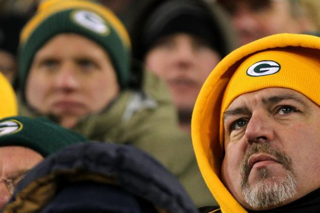 NFL Playoffs 2012: Green Bay Packers Fans Stunned by Loss to New York Giants