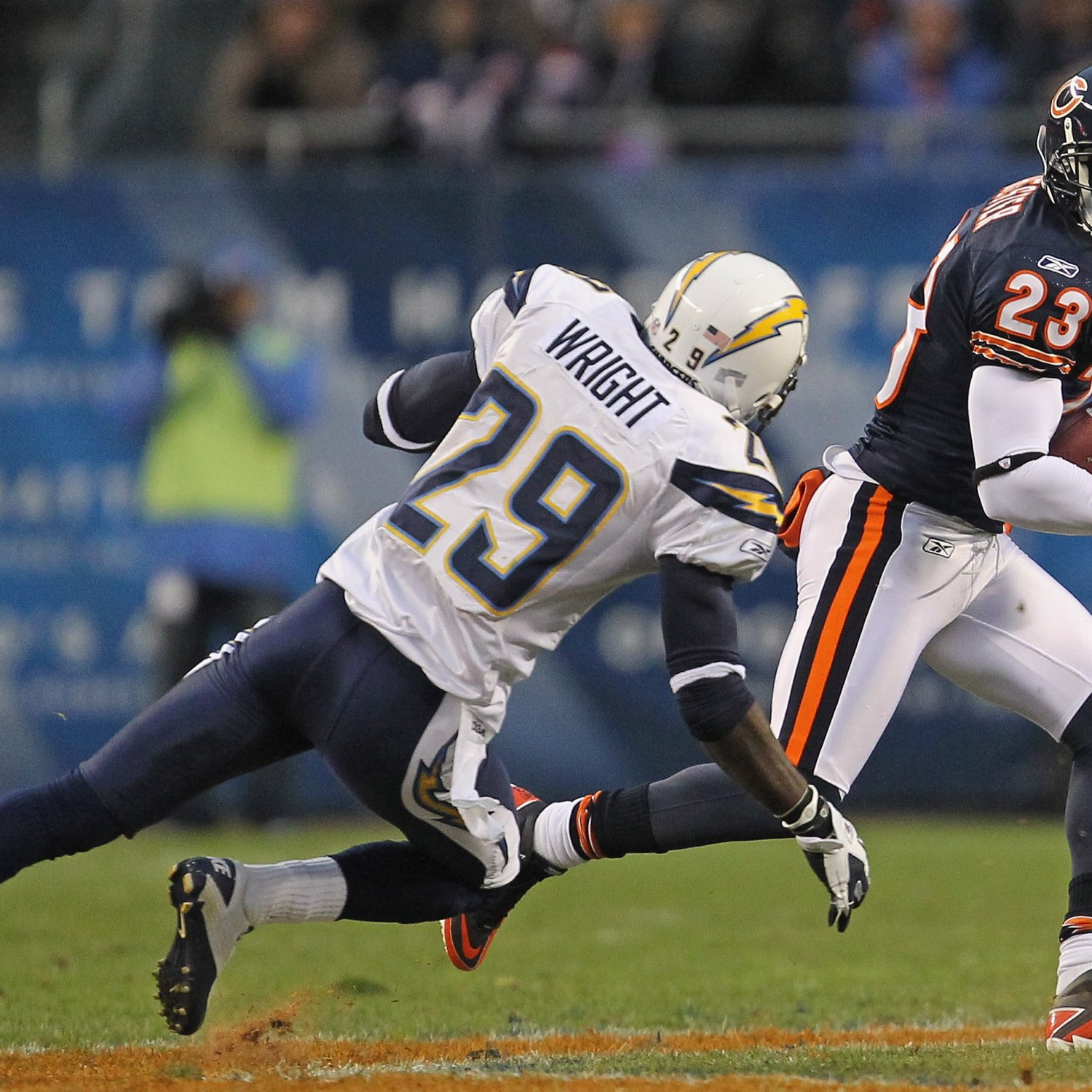 San Diego Chargers Defence: San Diego Chargers: Rookie Defensive Back Shareece Wright