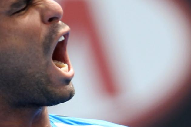 Mardy Fish Crashes out of Australian Open 2012: Alejandro Falla Advances
