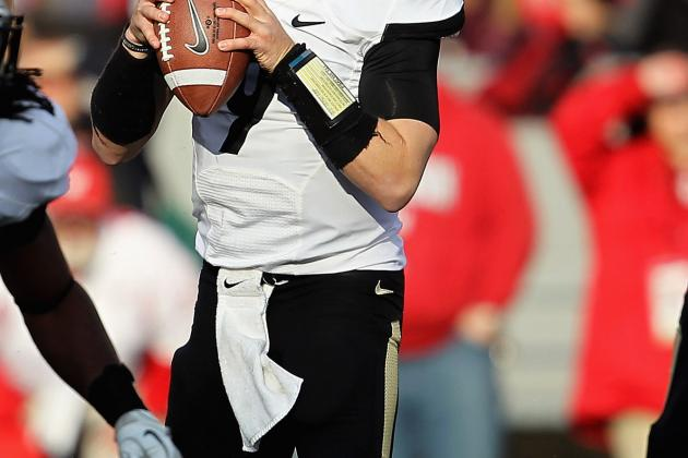 Purdue Boilmakers: With Robert Marve Back, Who Will Lead Purdue's Offense?